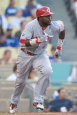 Brandon Phillips in action during the game — Stock Photo