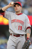 Joey Votto during the game — Foto Stock