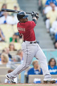 Jason Bourgeois takes a swing during the game — Stock Photo