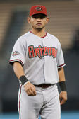 Gerardo Parra before the game — Stock Photo