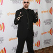 Rob Halford lead vocalist of Judas Priest arrives at the 21st Annual GLAAD Media Awards - Stock Photo