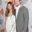 Постер, плакат: Rebecca Gayheart and Eric Dane arrive at the 21st Annual GLAAD Media Awards