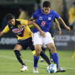 Stock Photo: Angel Reynand Cruz Azul Alejandro Velfight for ball during game