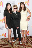 Rose Garcia, Mikey Koffman and Tracy Ryerson arrive at the 21st Annual GLAAD Media Awards — Stock Photo