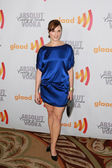 Nicol Paone arrives at the 21st Annual GLAAD Media Awards — Stock Photo