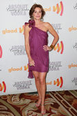 Countess LuAnn de Lesseps arrives at the 21st Annual GLAAD Media Awards — Stock Photo