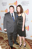 Chaz Bono and Jennifer Elia arrive at the 21st Annual GLAAD Media Awards — Stock Photo