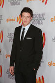 Cory Monteith arrives at the 21st Annual GLAAD Media Awards — Stock Photo