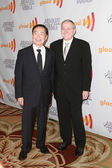 George Takei and Brad Altman arrive at the 21st Annual GLAAD Media Awards — Stock Photo