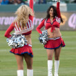 Chivas girls before the Major League Soccer game — Stock Photo