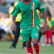 Anthony Straker in action during the game — Stockfoto