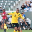 Rodolph Austin in action during the game — Stock Photo