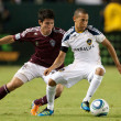 Kosuke Kimura and Paolo Cardozo during the game — Stock Photo #16341881
