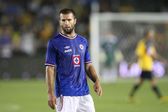 Emanuel Villa during the Club America vs Cruz Azul game at the game — Stock Photo