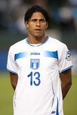 Carlo Costly before the game — Stock Photo