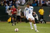 Mauricio Sabillon in action during the game — Stock Photo