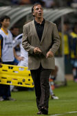 Bruce Arena during the game — Stock Photo