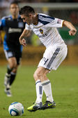 Robbie Keane in action during the game — Stock Photo