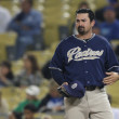 ADRIAN GONZALEZ during game — Stock Photo #16986099