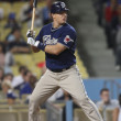 NICK HUNDLEY at bat during game — Stock Photo #16986615