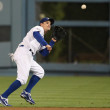 RYAN THERIOT catches a short fly ball during the game — Stock Photo
