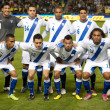 The Guatemalan National Team starting 11 before the soccer game — Stock Photo