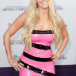 ERIKA JAYNE arrives at Paramount Pictures Justin Bieber: Never Say Never premiere — Foto de Stock