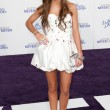 Stock Photo: MADELINE CARROLL arrives at Justin Bieber: Never Say Never premiere