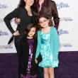 JANE LYNCH, DR. LARA EMBRY, and children arrive at the Paramount Pictures Justin Bieber: Never Say Never premiere — Stock Photo #16987235