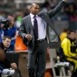 Robin Fraser coaches during the Major League Soccer game — Stock Photo