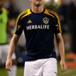 Stock Photo: Robbie Keane warms up before Major League Soccer game