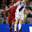 Robbie Keane and Jamison Olave in action during the Major League Soccer game — Stock Photo