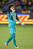Guillermo Ochoa during the game — Stock Photo