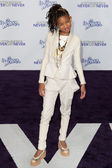 WILLOW SMITH arrives at the Paramount Pictures Justin Bieber: Never Say Never premiere — Stock Photo