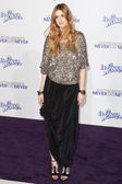 WHITNEY PORT arrives at the Paramount Pictures Justin Bieber: Never Say Never premiere — Stock Photo