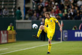 Eddie Gaven in action during the Major League Soccer game — Stock Photo
