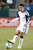 Benny Feilhaber in action during the game — Stock Photo