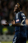 Kei Kamara during the game — Stock Photo
