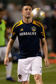 Robbie Keane warms up before the Major League Soccer game — Stock Photo
