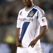 Edson Buddle shows his disappointment during Major League Soccer game — Stock Photo #16990173
