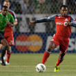 Julian de Guzman in action during the game — Stock Photo