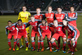 Toronto FC starting 11 before the CONCACAF Champions League game — Stock Photo