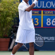 Somdev Kishore Devvarman in action during the game — Stockfoto