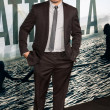 Michael Pena arrives at Columbia Pictures premiere — Stock Photo