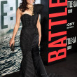 Michelle Rodriguez arrives at Columbia Pictures premiere — Stock Photo