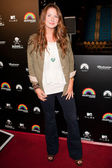 Vanessa Evigan arrives at Paramount Studios — Stock Photo