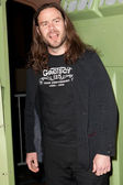 Chris Pontius arrives at Paramount Studios — Stock Photo