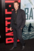 Aaron Eckhart arrives at Columbia Pictures premiere — Stock Photo