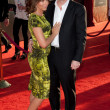 Jennifer Grey and Clark Gregg arrive at the Los Angeles premiere - Stock Photo