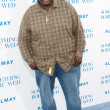 Quinton Aaron arrives at the Los Angeles premiere — Stockfoto